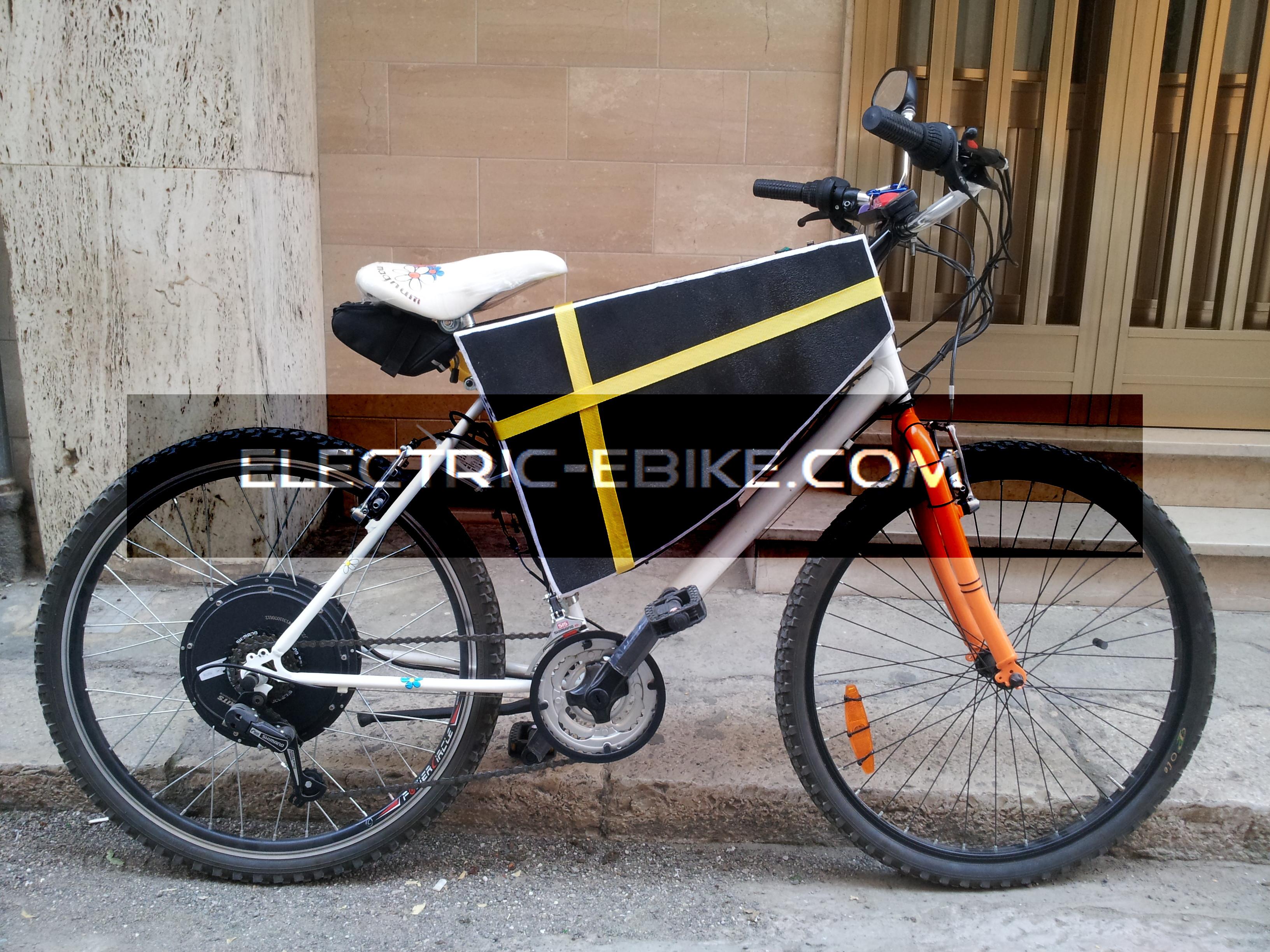 Bicicletta Elettrica Autocostruita Electric Ebikecomit